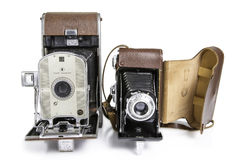 Old Photographic Cameras Royalty Free Stock Photo