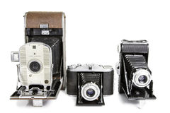 Old Photographic Cameras Royalty Free Stock Image