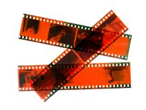 Old photographic film Stock Photos