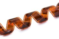 Old photographic film Royalty Free Stock Photography