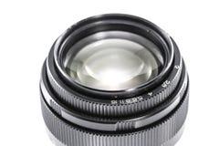 Old Photographic lens / Slr vintage lens / 85mm f2.0.  stock image