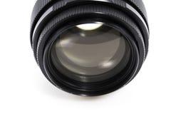 Old Photographic lens / Slr vintage lens / 85mm f2.0.  royalty free stock image
