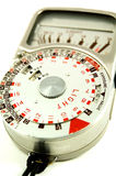 Old photographic light meter Royalty Free Stock Photos
