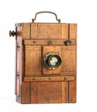 Old photographic view camera Royalty Free Stock Photo