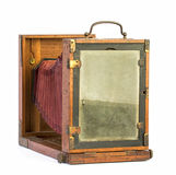 Old photographic view camera Royalty Free Stock Photography