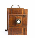 Old photographic view camera Stock Photography