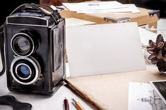 Old photographs Royalty Free Stock Photo