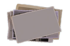 Old photography - blank copy space Royalty Free Stock Images