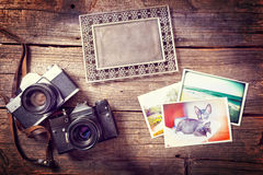 Old photograpy objects stock photos