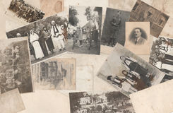 Old photos Royalty Free Stock Image