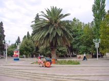 Old photos of Baku city Royalty Free Stock Photography