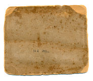 Old photos grunge paper card back Royalty Free Stock Images