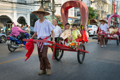 Old Phuket town festival Stock Photography