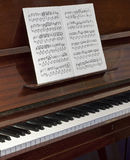 The old piano Stock Photography