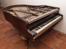 Old piano Stock Photo
