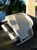 Old piano. Broken Stock Photography