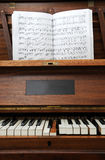 Old Piano royalty free stock photos