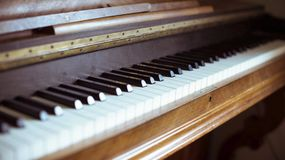 Old Piano stock image