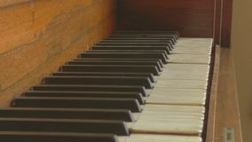 The Old Piano stock photo