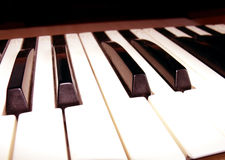 The old piano Royalty Free Stock Images