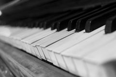 Old piano Royalty Free Stock Images