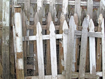 Old Picket Fence Sections Royalty Free Stock Photos