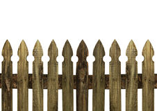 Old picket fence Royalty Free Stock Images