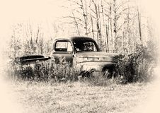 Free Old Pickup Truck Royalty Free Stock Image - 1359546