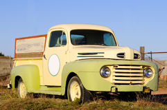 Old pickup truck Royalty Free Stock Photo