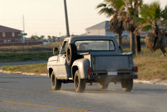 Old pickup truck Stock Photo