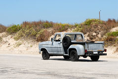 Old pickup truck in Texas Stock Photo