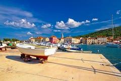 Old pictoresque town of Starigrad Hvar. Island in Dalmatia, Croatia Stock Photos