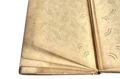 Old picture album Stock Photography