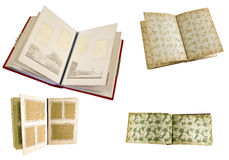 Old picture album Stock Photo