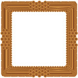 Old picture frame vector illustration
