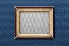 Old picture frame on a colored background Stock Image