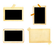 Old picture frame group Royalty Free Stock Photography