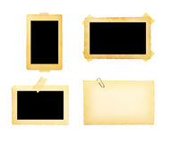 Old picture frame group stock photography