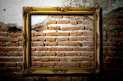 Old picture frame. Royalty Free Stock Images