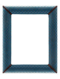 Old picture frame isolated on a white background Stock Image