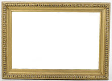 Old picture frame on white background Stock Photography