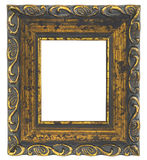 Old picture frame on white background Royalty Free Stock Photography