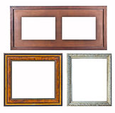 Old Frame wood style Stock Photography