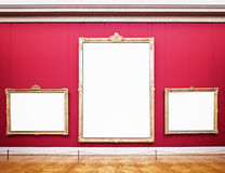 Old picture frames Royalty Free Stock Photos