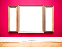 Old picture frames Royalty Free Stock Photography