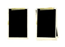 Old Picture Frames Stock Image