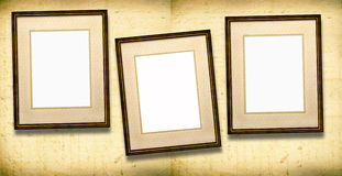 Old Picture Frames Stock Photos