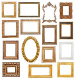 Old picture frames Stock Photography
