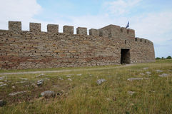 Old and picturesque fort of Eketorp Royalty Free Stock Photography