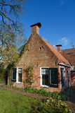Old picturesque house in the Netherlands Royalty Free Stock Photography